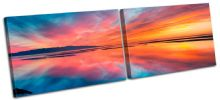 Beautiful Sunset Seascape - 13-0889(00B)-MP14-LO